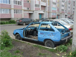 В Подмосковье будут утилизировать брошенные машины