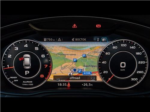 Audi Q5 2017 приборная панель
