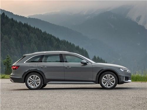 Audi A4 allroad quattro - Audi A4 allroad quattro 2020 вид сбоку