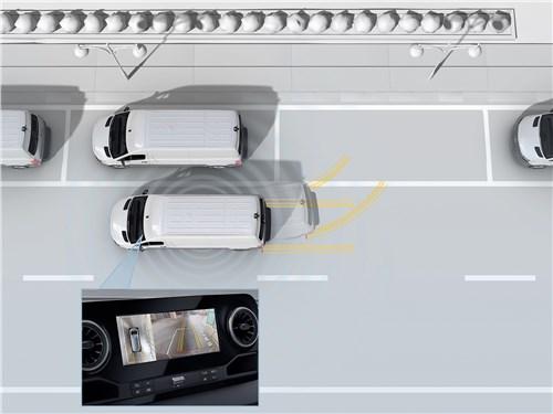 Ассистент парковки с круговым обзором — мечта водителя фургона