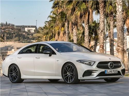 Mercedes-Benz CLS-Class AMG - Mercedes-Benz CLS53 AMG 2019 вид спереди сбоку