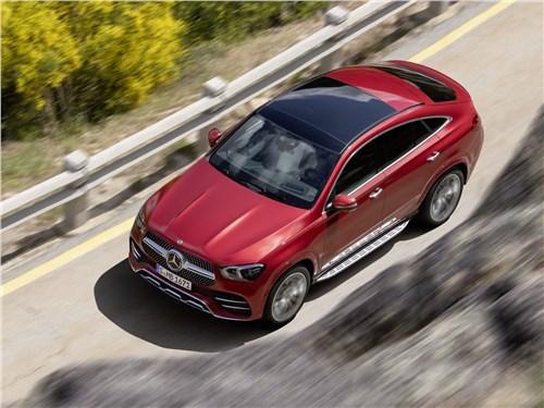 Mercedes-Benz GLE Coupe - Mercedes-Benz GLE Coupe 2020 вид сверху
