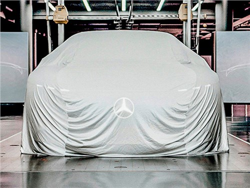 Новость про Mercedes-Benz - Mercedes раскроет какую-то тайну