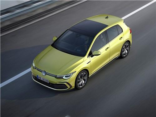 Охота на лидера Golf - Volkswagen Golf 2020 вид сверху