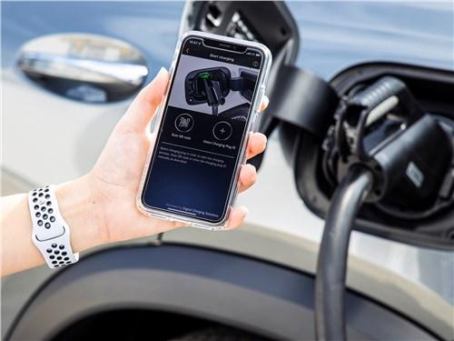 Параметры зарядки аккумуляторов можно контролировать через фирменное приложение для смартфона