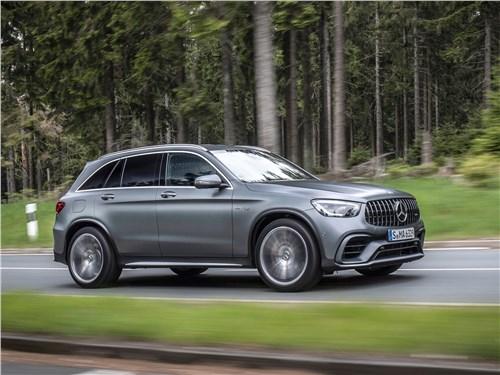 Mercedes-Benz GLC AMG - Mercedes-Benz GLC63 S AMG 2020 вид сбоку