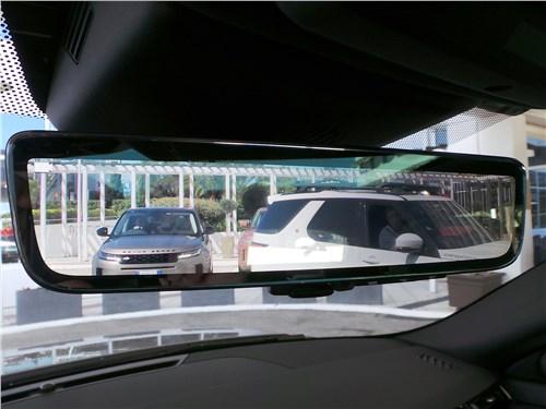 Это не просто зеркало, а электронный дисплей и изображение со специальной камеры