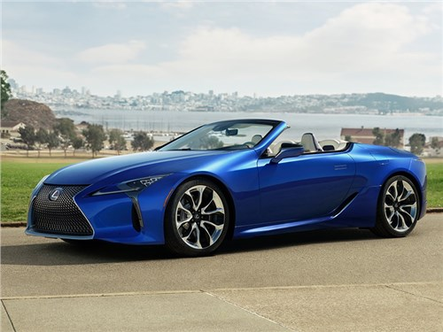 Новость про Lexus LC - Lexus LC 500 Convertible 2021