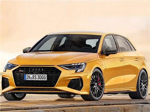 Новость про Audi RS3 - Audi RS3