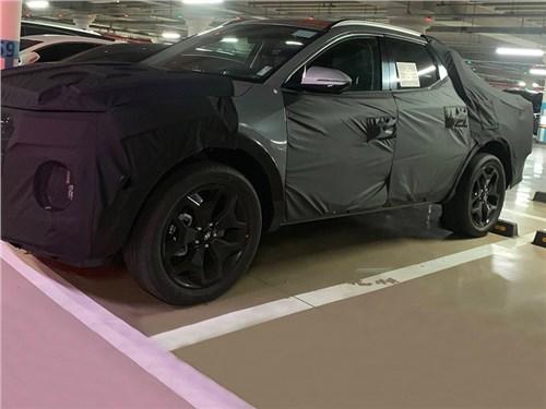 Пикап Hyundai замечен на тестах