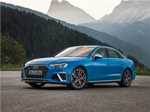 Audi S4 TDI 2020 вид спереди