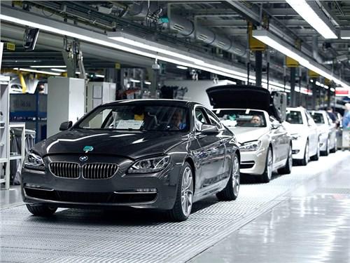 BMW не будет строить завод в России