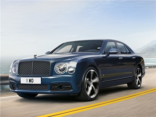 Новость про Bentley Mulsanne - Bentley Mulsanne 6.75 Edition by Mulliner 2020