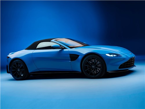 Предпросмотр aston martin vantage roadster 2021 вид сбоку