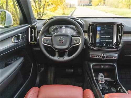Volvo XC40 2018 салон
