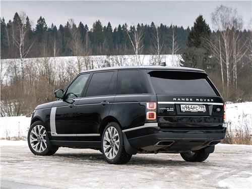 Range Rover LWB 2014 вид сзади