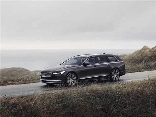 Появились первые тихоходные Volvo