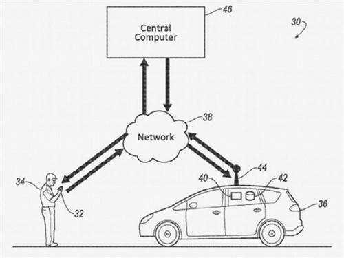 Ford запатентовал приложение для определения запаха в такси