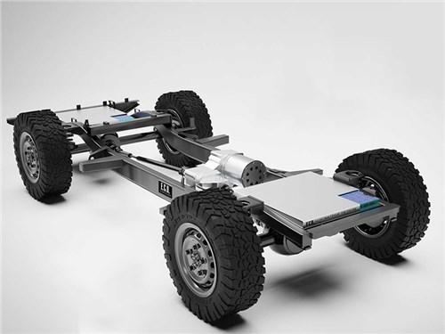 Land Rover скрестят с Tesla