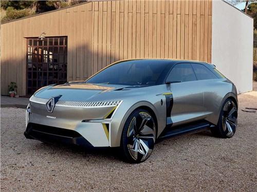 В гамме Renault появятся два серийных электрических кроссовера
