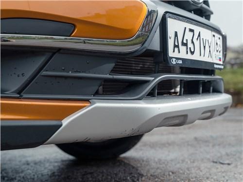 Предпросмотр lada granta cross 2019 передний бампер