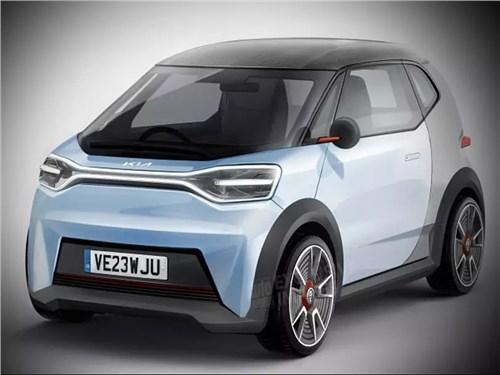Новость про KIA - Kia выпустит очень маленький электромобиль
