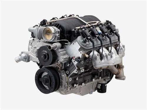 В Chevrolet представили очень большой и мощный V8