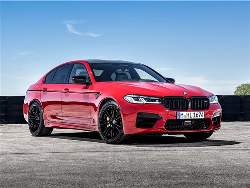 Новость про BMW M5 - BMW M5 Competition 2021