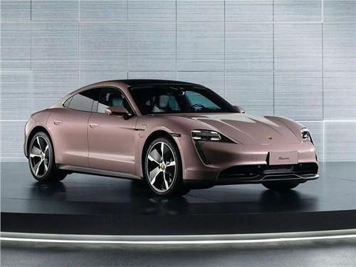 Новость про Porsche Taycan - Porsche Taycan 2020