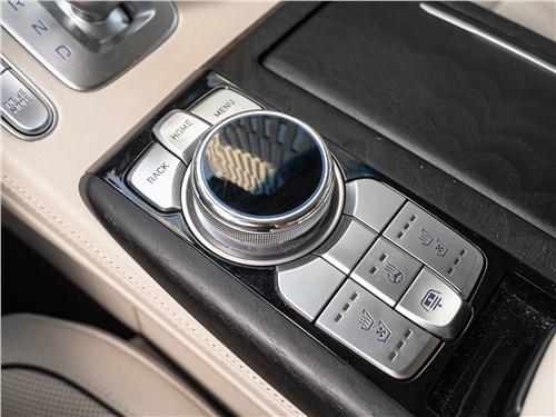 Hyundai Genesis G90 2019 селектор интерфейса