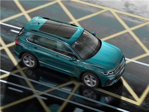 Российский Volkswagen Tiguan получил новую версию