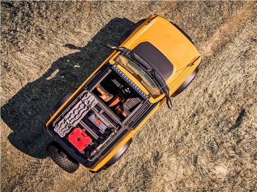 Ford Bronco 2-door (2021) вид сверху