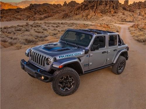 Jeep представил гибридный Wrangler