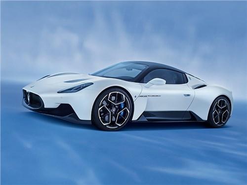Maserati представила новый суперкар с 630-сильным мотором