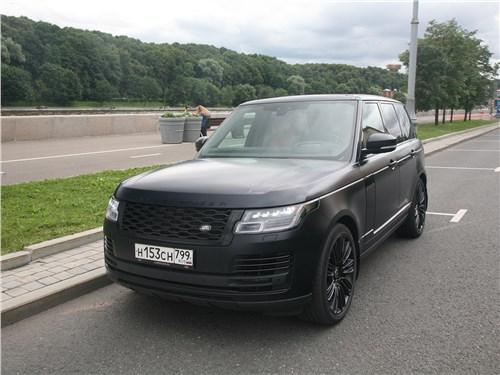 Land Rover Range Rover Autobiography 2018 вид спереди