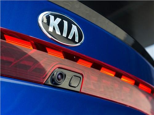 Kia K5 2021 камера