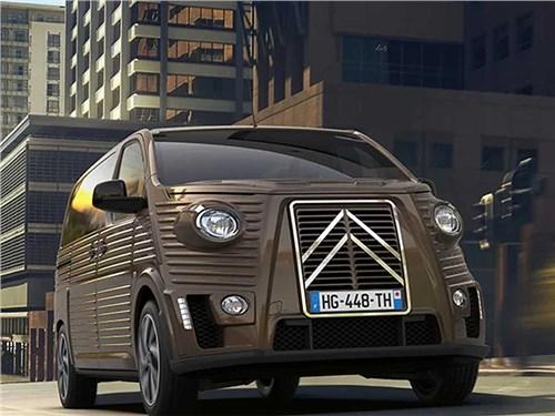 Citroen SpaceTourer можно стилизовать под фургон из 40-х