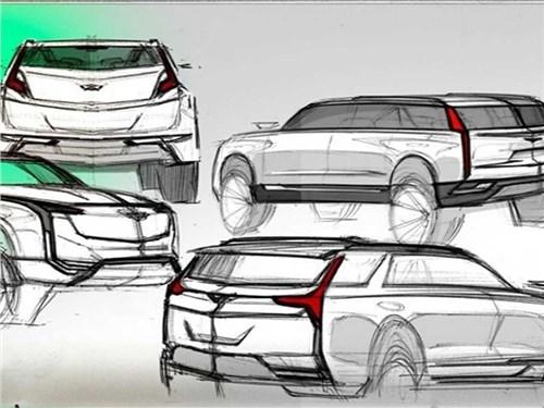 Новый внедорожник Cadillac получит уникальные двери