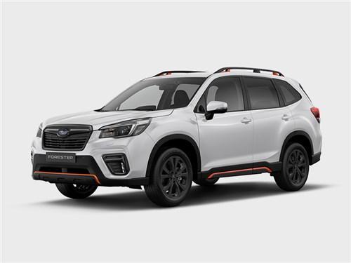 Новость про Subaru Forester - Subaru Forester Sport (2021)