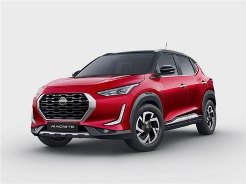 Nissan Magnite запатентовали в России