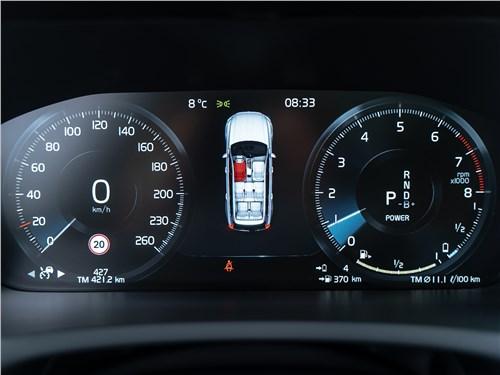 Volvo XC90 2020 приборная панель