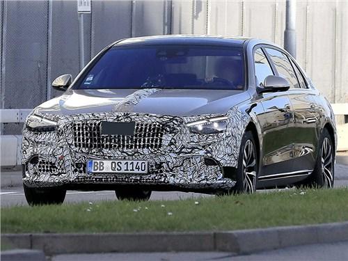 Новость про Mercedes-Benz S-Class Maybach - Новый лимузин Maybach засветился на дорогах Германии