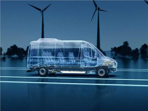 Новость про Mercedes-Benz - Электрический Sprinter переезжает на новую платформу