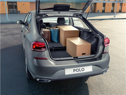 Предпросмотр volkswagen polo sedan 2020 багажное отделение