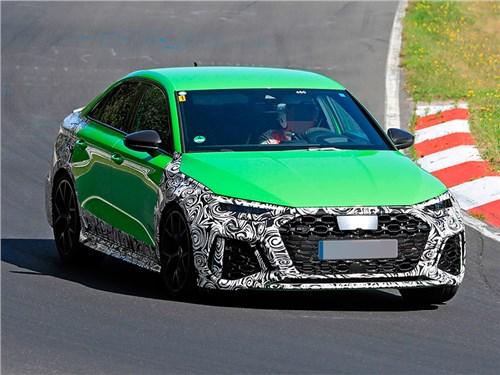 Audi RS3 готовится к дебюту