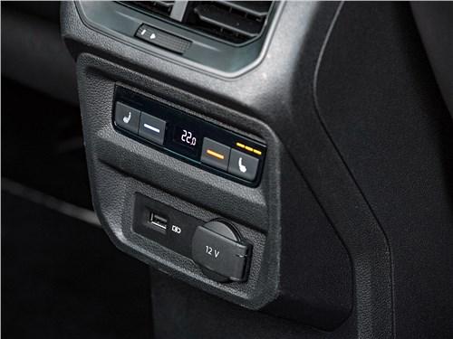Volkswagen Tiguan (2018) управление климатом