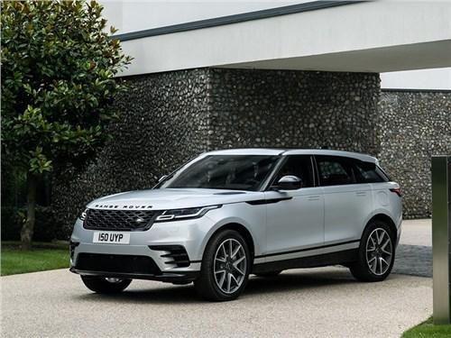Обновленный Range Rover Velar приехал в Россию