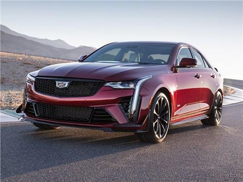 Новость про Cadillac - Cadillac CT4-V Blackwing (2022)