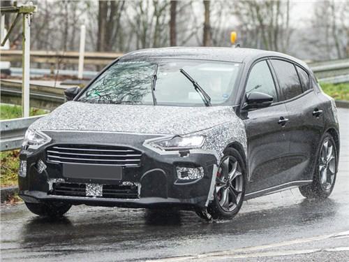В Европе тестируют новый Ford Focus