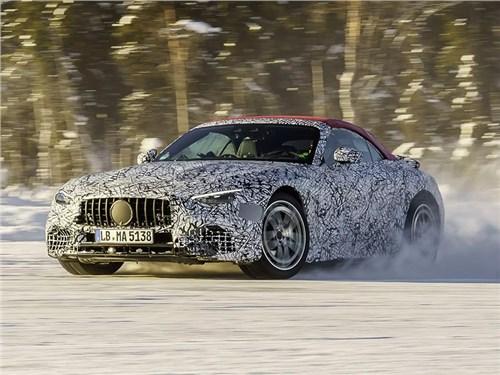 Новый Mercedes AMG SL «оспортивят»